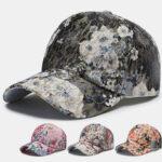 Оригинал              Цветочная бейсбольная кепка Пара солнцезащитных кремов Street Cap Tide Fashion Шапка