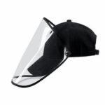 Оригинал              Съемная прозрачная защитная крышка для лица Маска Shield Шапка Противоударный изолятор Splash Cap