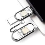 Оригинал              Eaget FU68 USB3.0 Flash USB-накопитель с шифрованием отпечатков пальцев Портативный U-образный дисковод Ручка 64G 128G 256G