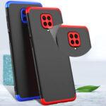 Оригинал              Bakeey 3 в 1 Двойной Dip 360 ° Жесткий ПК Полная защита Чехол Для Xiaomi Redmi Note 9S / Xiaomi Redmi Note 9 Pro / Xiaomi Redmi Note 9 Pro Max