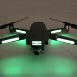 Оригинал              Drone Универсальный светящийся стикер для Autel EVO 2/DJI Mavix Air 2/Mavic Pro/Mavic Air РУ Квадрокоптер