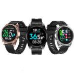 Оригинал              LYNWO BT01 Измерение температуры тела в режиме реального времени HR Артериальное давление O2 Монитор Несколько циферблатов IP68 Smart Watch