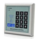 Оригинал              Система контроля доступа RFID Устройство безопасности машины 125 кГц Входная дверь RFID ближнего действия Замок Устройство считывания карт Две