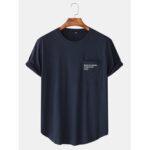 Оригинал              Повседневная футболка с коротким рукавом с принтом и текстилем