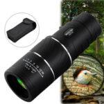 Оригинал              ARCHEER 16×52 Монокуляр с двойным фокусом и оптикой с зум-телескопом для дневного и ночного видения для птиц / Охота / Кемпинг / Туризм