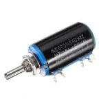 Оригинал              3шт WXD3-13-2W прецизионный потенциометр 22 кОм 22 кОм проволочный многооборотный потенциометр