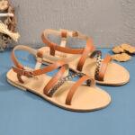 Оригинал              Женщины Большой размер Пляжный Плетеный открытый носок Strappy Крест Пряжка Flat Сандалии