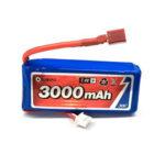 Оригинал              Eachine 7.4V 3000mah 30C Lipo Батарея T Plug Для 1/12 Eachine EAT04 Wltoys 12428 12423 Feiyue RC Авто Запчасти