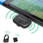 Оригинал              BlitzWolf® BW-BL1 Bluetooth V5.0 передатчик Type-C USB Bluetooth передатчик для коммутатора / PS4 / ТВ / ПК