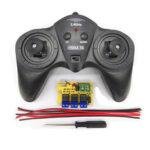 Оригинал              Маленький Hammer 6CH 2.4G 15A Беспроводной контроллер с Приемник Для DIY RC Робот Авто
