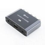 Оригинал              Конвертер Biaze HD в YPBPR Конвертер видео HD Аудио конвертер Адаптер компонента Ypbpr RGB 1080P Z9