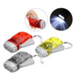 Оригинал              Ручной фонарик самонажимающийся LED Кемпинг легкий На открытом воздухе охотничий тактический факел