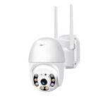Оригинал              [EU Plug] Xiaovv P2 Двойной Антенна WIFI HD 2-мегапиксельная IP камера 360-градусный поворот PT-Z H.265 Водонепроницаемы IP65 ONVIF Инфракрасная полноцветная ноч
