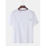 Оригинал              Хлопковые дышащие футболки с коротким рукавом с вышивкой Daisy