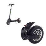 Оригинал              LANGFEITE L8S 10-дюймовый складной электрический скутер Шина Твердый амортизатор Замена передняя / задняя ступица шины
