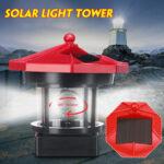 Оригинал              Вращающийся светодиодный маяк Солнечная Светлая башня Верхняя часть Сад Двор Газон Лампа На открытом воздухе Ландшафтное освещение