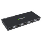 Оригинал              AIMOS HD KVM-переключатель Коробка 18 Гбит / с 4K 60 Гц Ultra HD 4 входа 1 выход USB-концентратор KVM-переключатель Splitter для ПК PS4 Общий принтер Клавиатура Мы