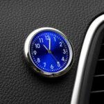 Оригинал              [Магнитный Дизайн] VST CL-002 Авто Часы Светящиеся мини-автомобили Внутренние цифровые часы Механика Кварц Часыs Подарки