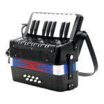 Оригинал              17 Key 8 Bass Small Аккордеонные Развивающие Музыкальные Инструменты для Детей Дети Подарок