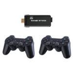 Оригинал              X8 Dual Core Wireless 4K UHD Game Палка 32GB 3550 игр Телевизионный игровой плеер с поддержкой 2.4G Геймпад Dual PS1 MD GBA GB GBC SFC N64 MAME Аркадная игровая консоль