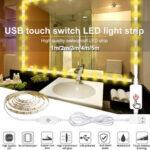 Оригинал              1M / 2M / 3M / 4M / 5M USB сенсорный выключатель LED Полоса света Водонепроницаемы 2835 Зеркало с регулируемой яркостью Лампа Набор для Макияж Подсветка