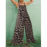 Оригинал              Комбинезоны с леопардовым принтом и широкими штанинами