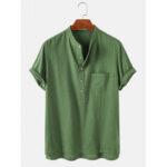 Оригинал              Мужские рубашки с коротким рукавом из 100% хлопка