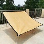 Оригинал              Sun Shade Sail Сад Патио Плавание Бассейн Тент Навес Солнцезащитный крем UV На открытом воздухе