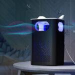 Оригинал              Электрическая москитная убийца насекомых Лампа USB зарядка Светодиодный Zapper Борьба с вредителями Ловушка для насекомых USB Bug Quiet