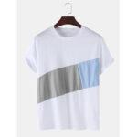Оригинал              100% хлопок дизайнер цвета дышащие футболки с короткими рукавами