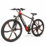 Оригинал              SAMEBIKE SH26 8Ah 36V 350W Электрический велосипед 26 из сплава Интегрированное колесо 30 км / ч Максимальная скорость 70 км Пробег 150 кг Макс. Нагрузка E-bik