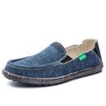 Оригинал              Мужчины промывают холст Comfy дышащий скольжения на повседневной обуви