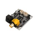 Оригинал              24bit 192khz DAC Digital Audio Decoder Optical Fiber Coaxial Digital Signal Input Stereo Output Decod Board
