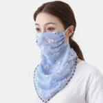 Оригинал              Верховая езда Маска Печать Шея Солнцезащитный шарф Маска Дышащий Быстросохнущий Лето
