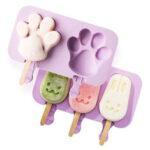 Оригинал              DIY Домашнее мороженое Силиконовый Плесень для мороженого Летняя плесень для мороженого
