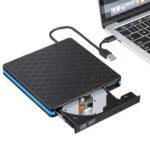 Оригинал              USB 3.0 Type C Внешний CD-DVD-привод Двухпортовый DVD-RW-плеер Портативный оптический привод Записывающее устройство Перезаписывающее устройство Вы