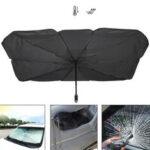 Оригинал              Солнцезащитный крем для автомобиля Sun Shade для складывания лобового стекла UV Rays Sun Visor Protector Umbrella