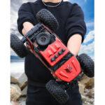 Оригинал              1:12 2,4 ГГц Радио 4WD RC Авто Аккумуляторная Дистанционное Управление Высокоскоростной внедорожный грузовик-монстр Модель Транспортные средс