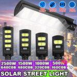 Оригинал              160/320/480 / 640COB LED Солнечная Уличный фонарь PIR Движение Датчик На открытом воздухе Стена Лампа С Дистанционное Управление