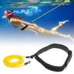 Оригинал              3 / 4x6x9m Ленты сопротивления плаванию Тренировочные ремни для плавания Жгут Упражнение для плавания