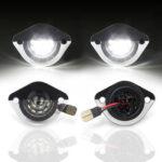 Оригинал              2 ШТ. Белый SMD LED Задний номер лицензии Пластина Свет Лампа Для Ford Mustang 1994-2004