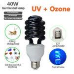 Оригинал              AC110V E27 40W UV Бактерицидная дезинфекция Стерилизация Light Озон Ультрафиолетовая Лампа Лампа