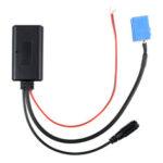 Оригинал              Автомобильный Bluetooth 5.0 Aux Кабель Аудио Адаптер USB Громкой Связи С Микрофон AUX Без Потерь MIC