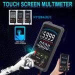 Оригинал              Touch LCD Цифровой Мультиметр RMS Авто Тестер Транзистор AC DC Вольтметр Омметр