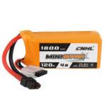 Оригинал              CNHL MINISTAR 14.8V 1800mAh 120C 4S Lipo Батарея XT60 Разъем для RC Racing Дрон