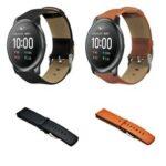 Оригинал              Bakeey 22mm Универсальные часы Стандарты Кожаный ремешок для часов для Haylou Солнечная/Huawei Часы GT / Часы Xiaomi Color / BW-HL3 BW-AT1 / Amazfit GTR 47 мм