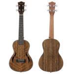 Оригинал              IRIN 23/26 дюймов 4-струнный концертный орех укулеле с гитарой из красного дерева акустическая гитара укулеле