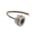 Оригинал              Емкостной модуль отпечатков пальцев R503 Датчик Круглый круглый двухцветный индикатор LED Control DC3.3V MX1.0-6pin