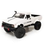 Оригинал              WPL C24 1 1/16 2.4G 4WD Гусеничный грузовик RC Авто Полный Пропорциональный контроль RTR