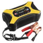 Оригинал              Enusic ™ BC1901 6 В / 12 В 2A 6A 10A Ремонт импульсов Батарея Зарядное устройство для Авто мотоцикл Свинцово-кислотный Батарея Агм Гель Мокрый